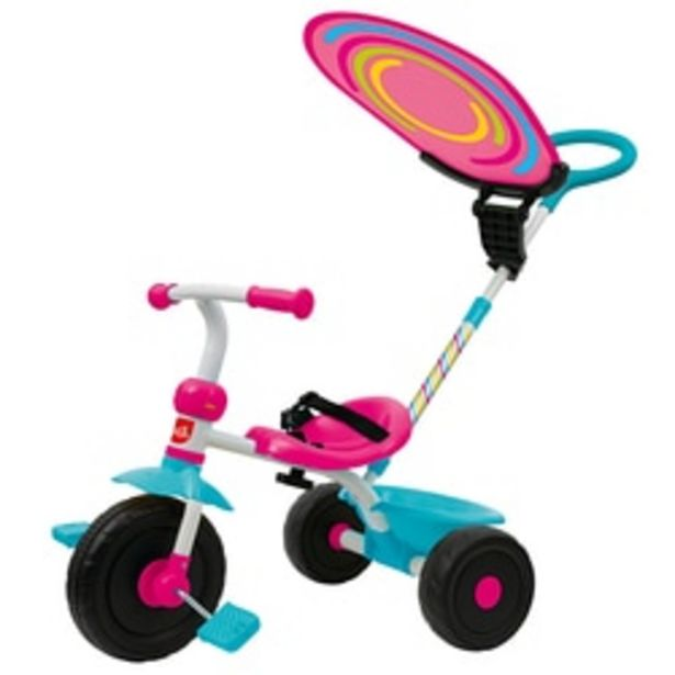 Tricycle Triky Go rose offre à 36,99€