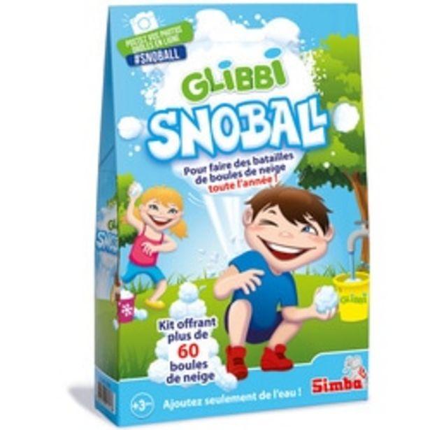 Glibbi snowball - jeu d'extérieur - boules de neige offre à 6€