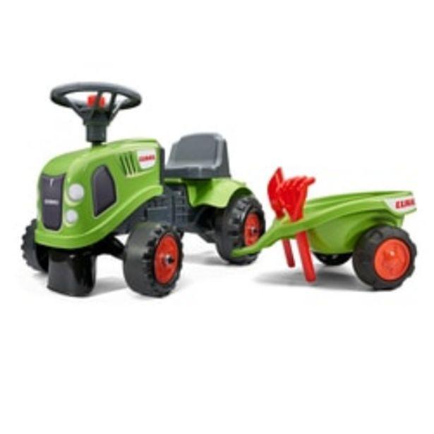 Tracteur Baby Claas avec remorque offre à 34,99€