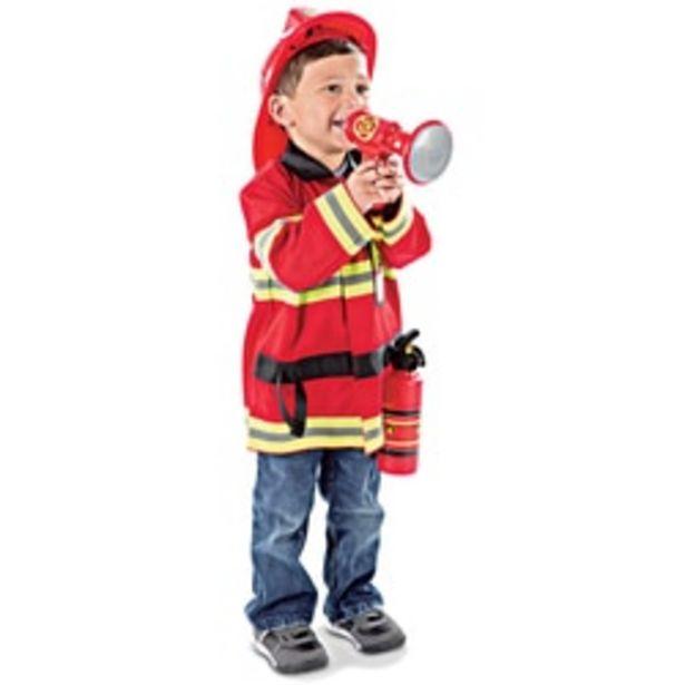 Déguisement chef des Pompiers offre à 29,99€