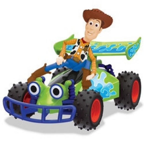 Buggy radiocommandé Woody Toy Story 4 offre à 19,99€