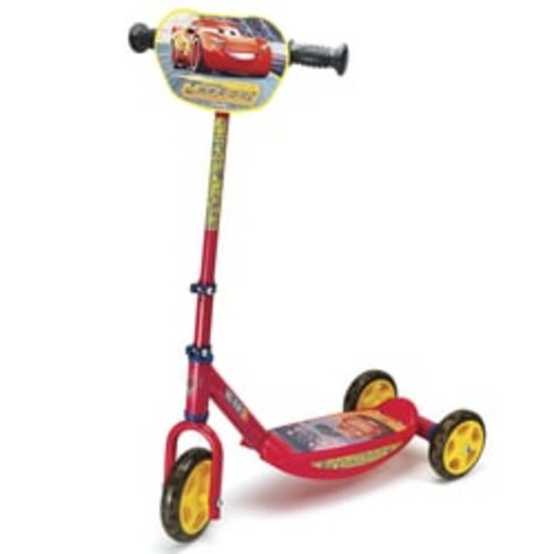 Patinette 3 roues cars ice offre à 24,99€