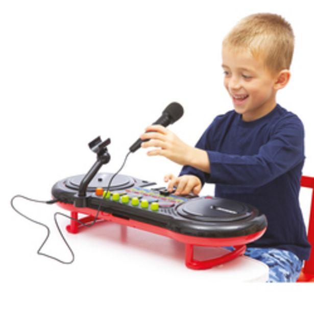 Table de mixage DJ Mixeur avec micro offre à 49,99€