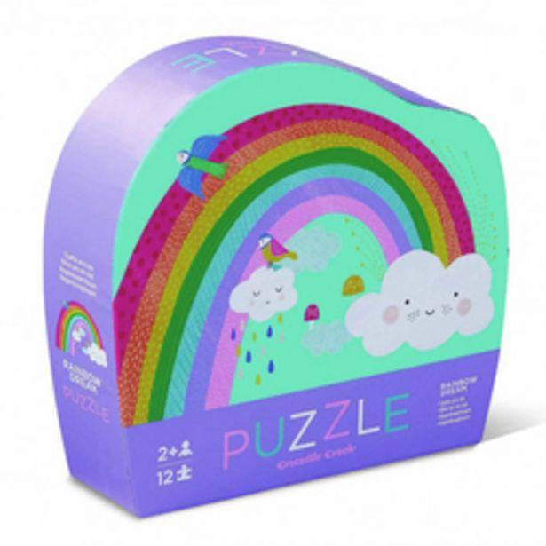 Puzzle 12 pièces arc-en-ciel offre à 7€