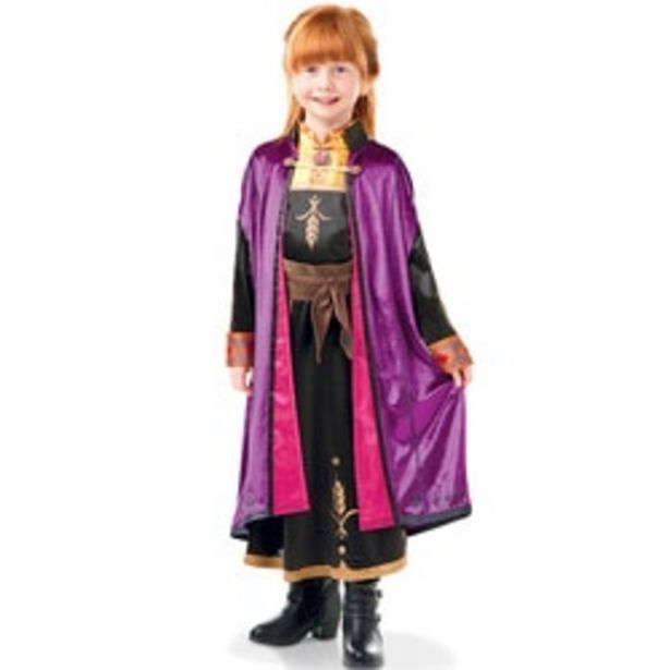 Déguisement luxe Anna La Reine des Neiges 2 7/8 ans offre à 34,99€