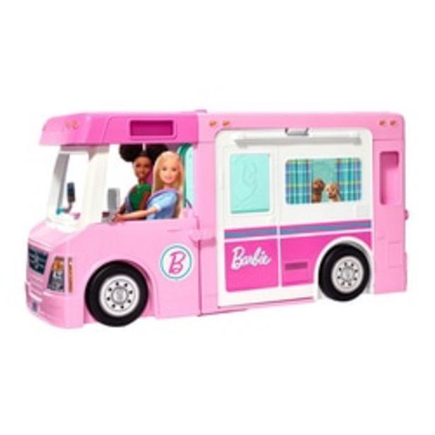 Camping-Car de rêve 3 en 1 Barbie offre à 94,99€