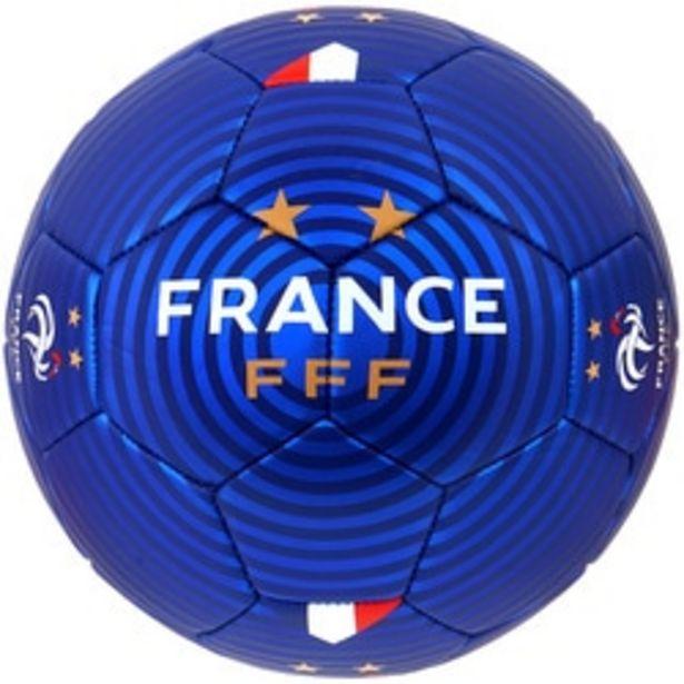 Ballon FFF Foot métallisé offre à 17,99€