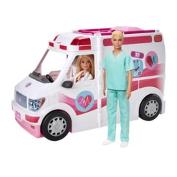 Véhicule médical Barbie et Ken docteurs offre à 65,99€