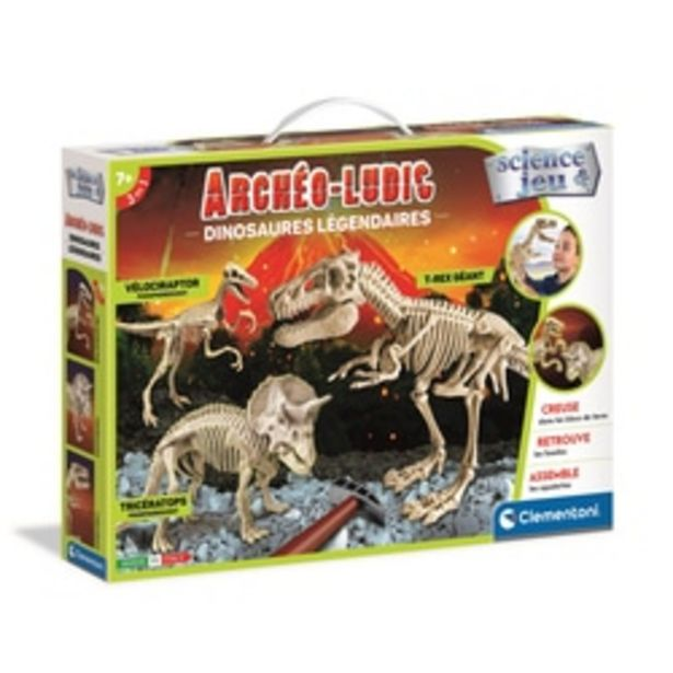 Archeo Ludic - Dinosaures légendaires offre à 21,99€
