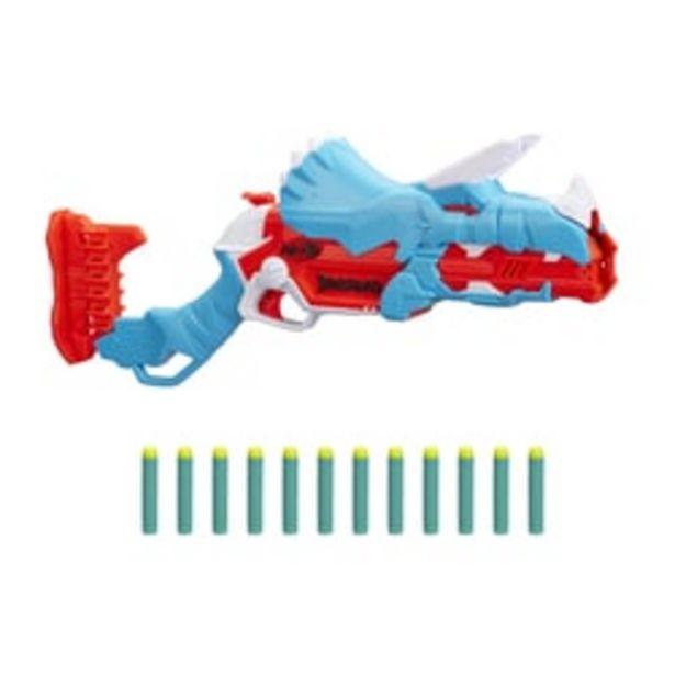 Pistolet Nerf DinoSquad Tricerablast offre à 21,99€