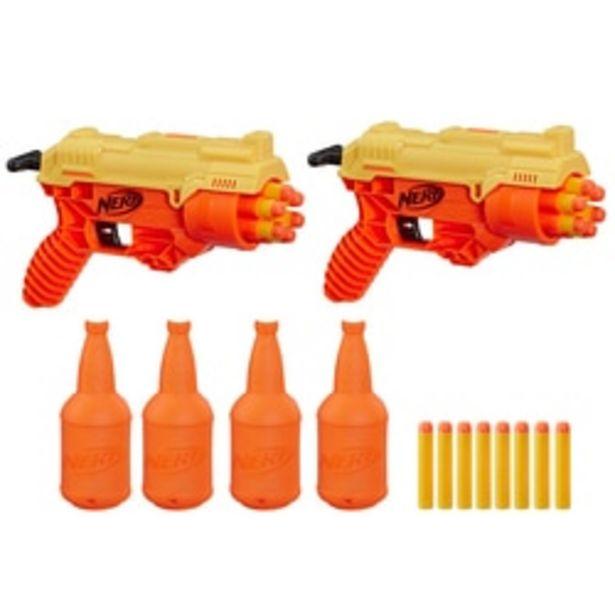 Pistolet Nerf Alpha Strike Cobra RC-6 Dual Target offre à 14,99€