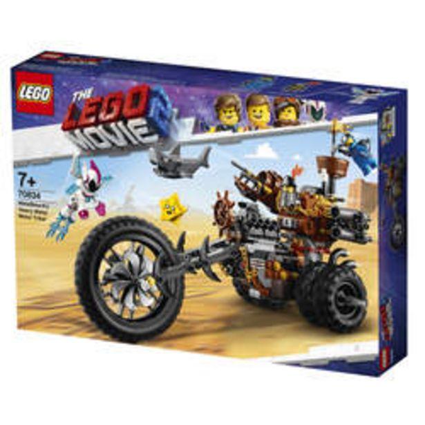 70834 - LEGO® MOVIE 2 Le tricycle motorisé en métal de Barbe d'Acier offre à 45€