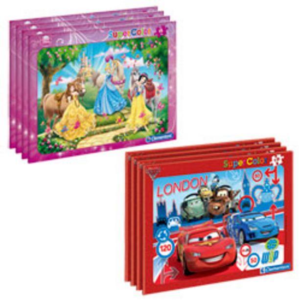 Puzzle cadre 15 pièces Disney offre à 3€