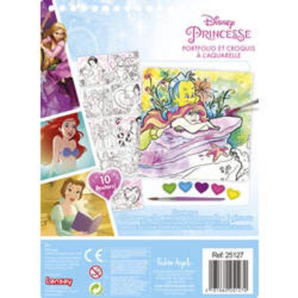 Portfolio et croquis à l'aquarelle - Disney Princesses offre à 6€