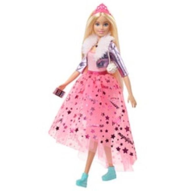 Poupée Barbie Princess Adventure offre à 22,99€
