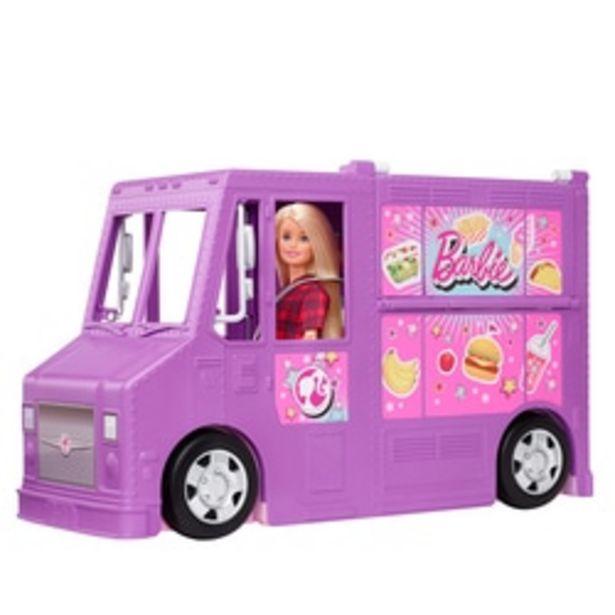 Food truck de Barbie offre à 59,99€