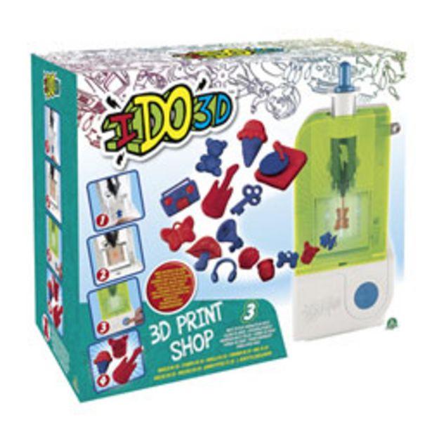 Ido3d - Kit de jeu 3d Print Shop offre à 10€