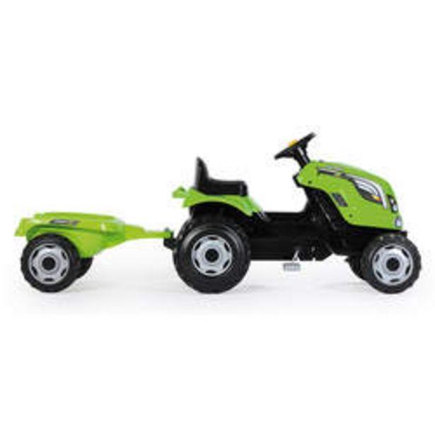 Tracteur farmer xl + remorque - capot ouvrable - vert offre à 48,99€