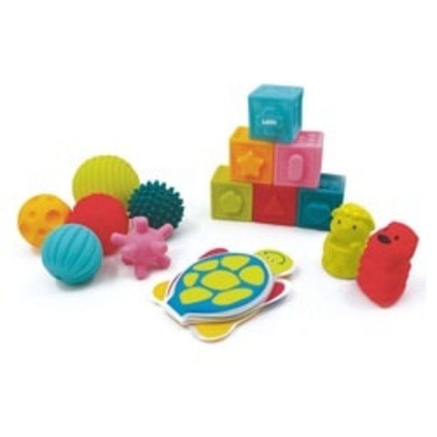 Coffret d'éveil - Livre cubes balles offre à 19,99€