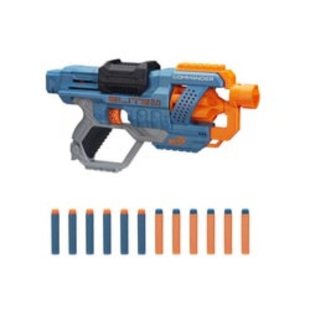 Pistolet Nerf Elite 2.0 Commander RD-6 offre à 13,99€