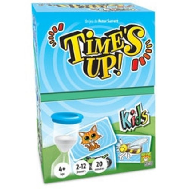 Time's up kids offre à 19,99€