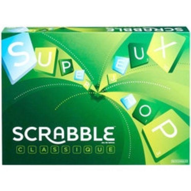 Scrabble Classique offre à 24,99€