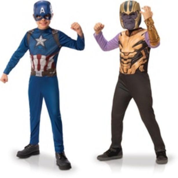 Avengers - Panoplies Thanos et Captain America 3-4 ans offre à 32,89€