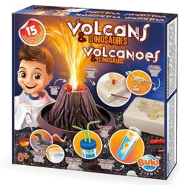 Volcans et dinosaures offre à 19,99€