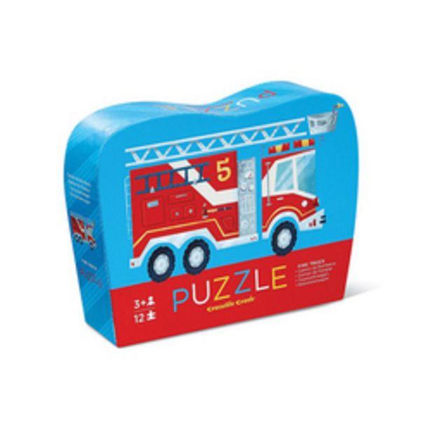 Puzzle 12 pièces camion de pompier offre à 7€