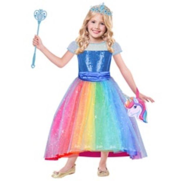 Déguisement Barbie Rainbow 8/10 ans offre à 29,39€
