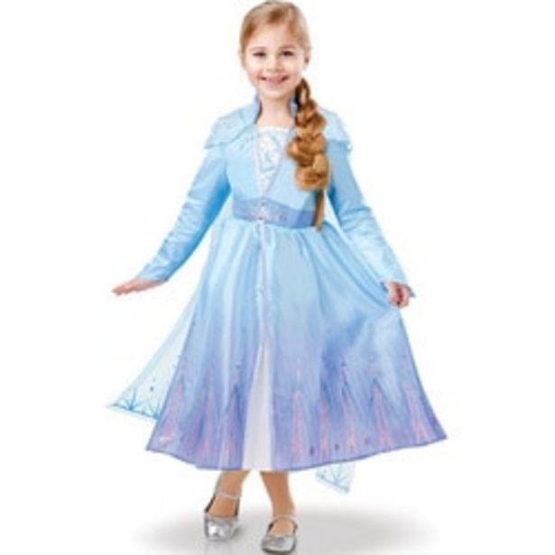 Déguisement luxe Elsa La Reine des Neiges 2 3/4 ans offre à 34,99€