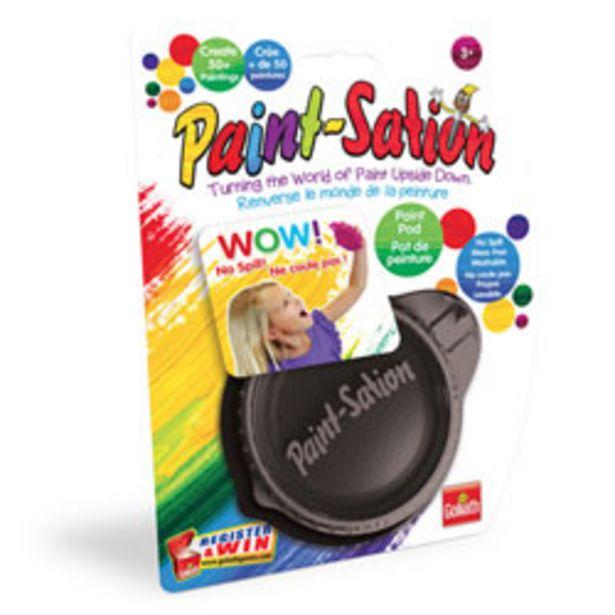 Paint-Sation-Pot de peinture noir offre à 3€