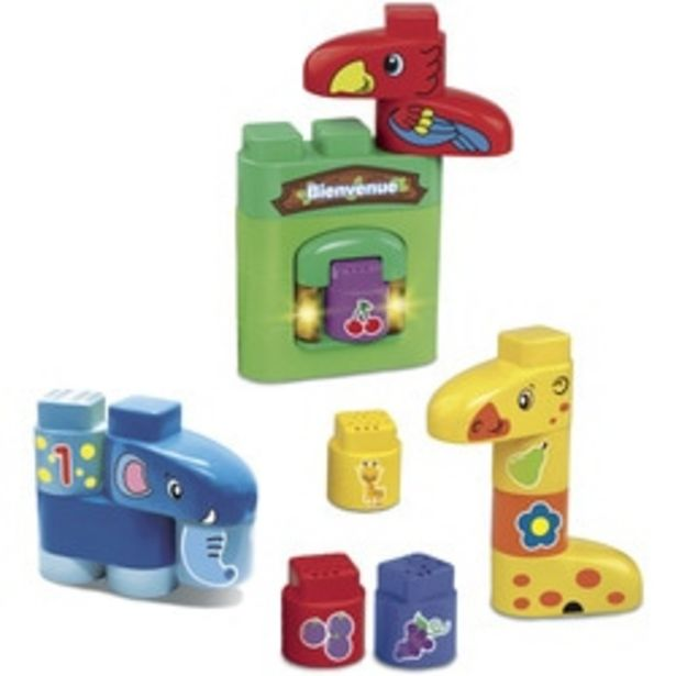 Blocs de construction Mes animaux rigolos - Bla Bla Blocks offre à 17,99€