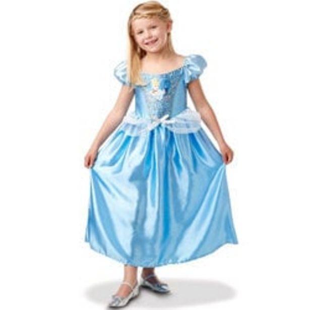 Déguisement Cendrillon robe sequins 5/6 ans - Disney Princesses offre à 17,49€