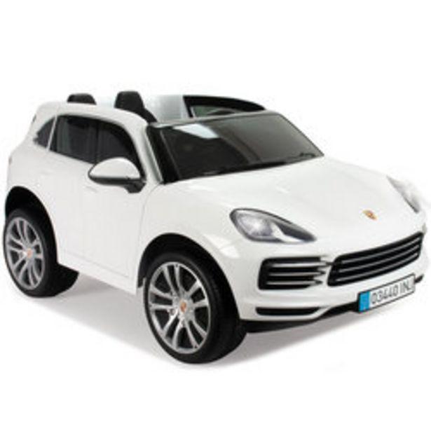 Voiture électrique Porsche Cayenne S 12V offre à 349,99€