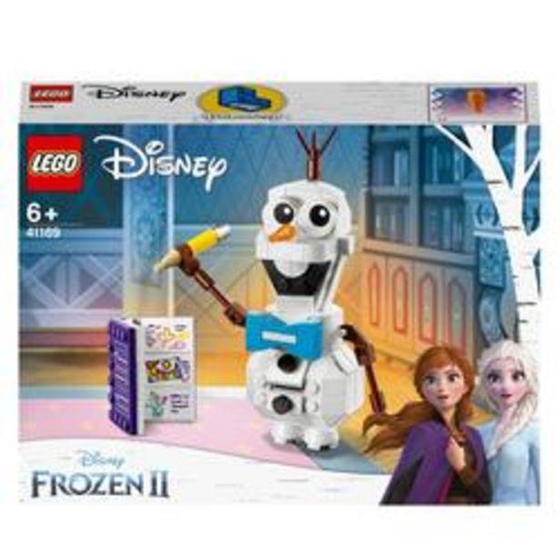 41169 - LEGO® Disney Princess - Olaf le bonhomme de neige La Reine des Neiges 2 offre à 10,19€