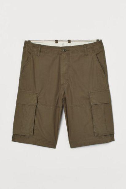 Short cargo en coton offre à 10,99€