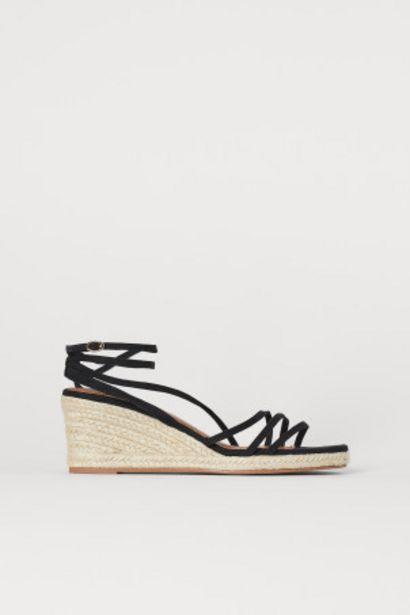 Sandales à talon compensé offre à 9,99€