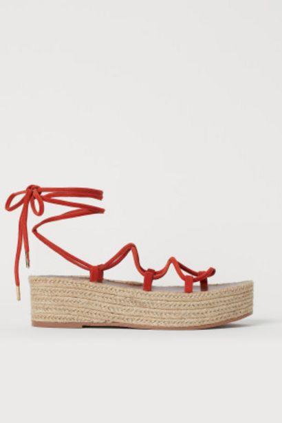 Sandales à plateforme offre à 14,99€