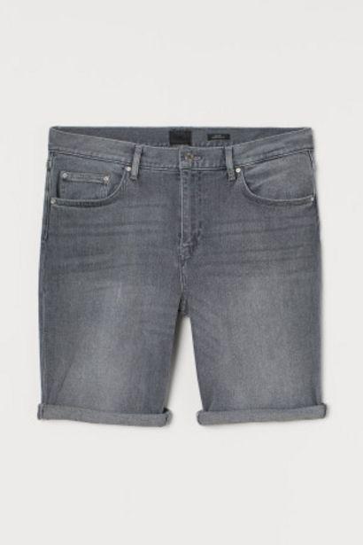 Short en jean Slim Fit offre à 12,99€