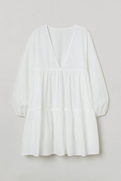 Robe de plage en popeline offre à 17,99€