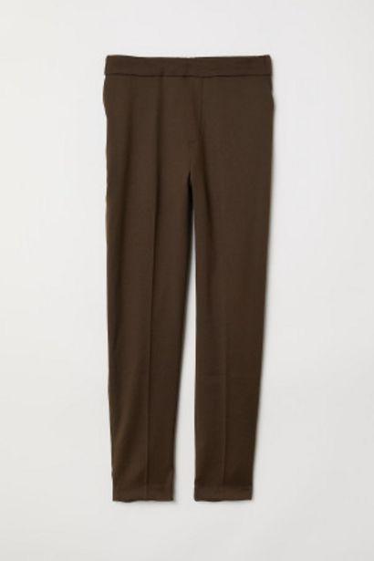 Pantalon à taille élastique offre à 7,99€