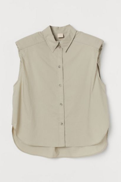 Chemise sans manches offre à 14,99€