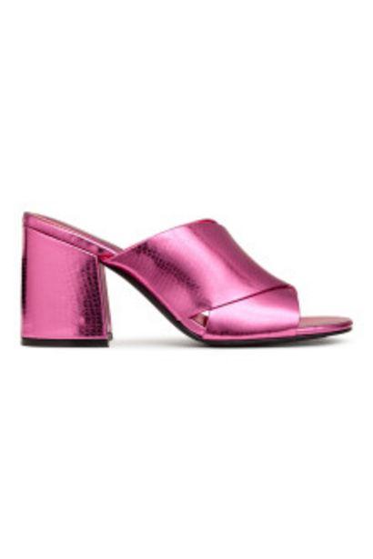 Sandales façon mules offre à 8,99€