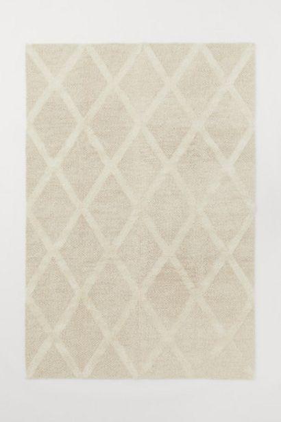 Tapis texturé en laine offre à 249€