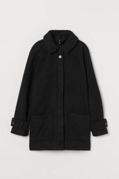 Manteau carré en twill offre à 35,99€