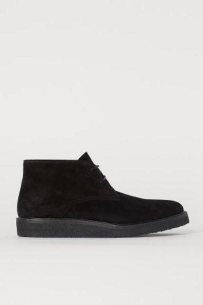 Desert boots en suède offre à 69,99€