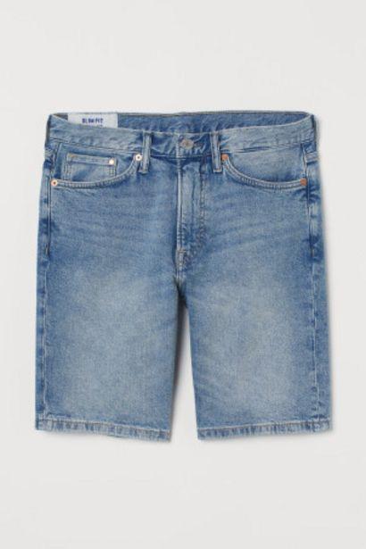 Short en jean Slim offre à 12,99€