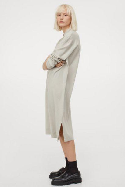 Robe en maille avec col offre à 7,99€