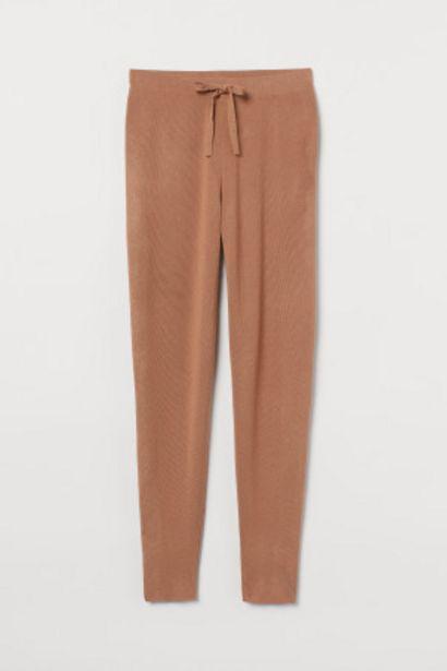 Pantalon jogger en maille fine offre à 8,99€